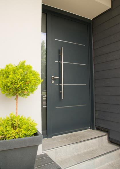 Porte en aluminium à Bordeaux