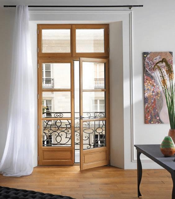 Fenêtre en bois à Bordeaux